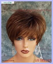 """""""IVY"""" BY NORIKO CLASSIC CAP WIG *ICED MOCHA R* CUTE CHIC LOOK USA SELLER"""