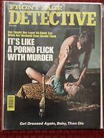 Front Page Detective Magazine February 1977 True Crime Police Procedural