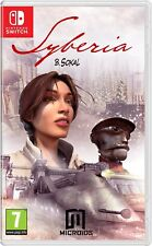 Syberia [Nintendo Switch, Point and Click Action Adventure, B. Sokal] NEW