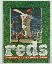 Cincinnati Reds 1970 Yearbook, Johnny Bench, VG