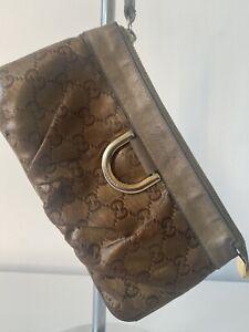 Gucci Crystal Clutch Bag/purse