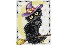 Cross Stitch Kit Black cat M-295