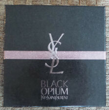Yves Saint Laurent Black Opium Empty Gift Box Black & Gold Clear Sleeve New