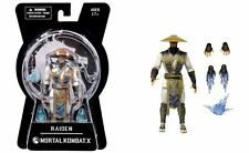 "MEZCO MORTAL KOMBAT X VIDEO GAME SERIES 1 RAIDEN 6"" inch ACTION FIGURE - 15cm"
