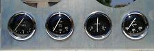 Triumph Tr2 Tr3 Jaeger Lucas Full Set Gauge Oil Temp Amps Fuel 1953/62