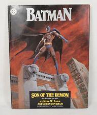 Batman Son Of The Demon 1 HC DC 1987 VF Signed Jerry Bingham