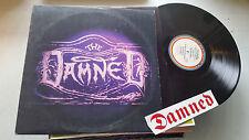 THE DAMNED Black Album ORIG IRS LP US '80 irs sp70012 punk goth w/FAN STICKER ra