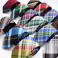 Lot 10 Packs Men's Necktie 6CM Striped Plaid Checks Skinny Narrow Slim Neck Tie