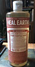 Liquid Soap Natural Organic Vegan Soft Dr Bronners Eucalyptus Pure Castile 32 Oz