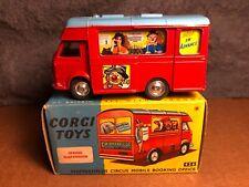VTG Corgi Toys   426   Chipperfields Circus Booking Office   Original Box