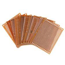 10pcs 7x9cm PCB Blank Circuit Board Prototype Paper Solder Circuit Panel E5Q6