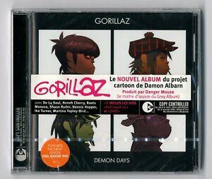 CD ★ GORILLAZ - DEMON DAYS ★ ALBUM NEUF SOUS CELLO