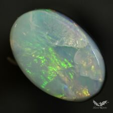 2.15 cts Australian Lightning Ridge Opal Doublet Polish Pendant Beautiful #7.042