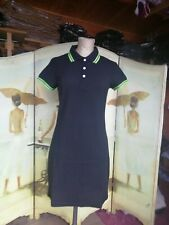 Black polo style dress size 14, scooter, mod, 60s, skinhead BNWT