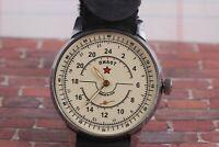 POBEDA Komandirskie Vintage Mens Military watch Mechanical Soviet watches