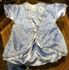 Build a Bear Workshop Fiona Blue Gown Dress Shrek The Third Costume Clothes