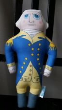 Late Great George Washington Stuffed Rare Doll Toy