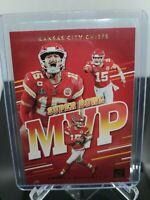 2020 Panini Donruss Patrick Mahomes II Super Bowl MVP MVP-PM Kansas City Chiefs