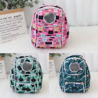 Cat Carriers for Large Cats Breathable Mesh Pet Dog Travel Bag Comfort Backpack