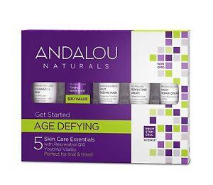 NEU Andalou naturals Age defying Get started Testgrößen Kosmetikproben