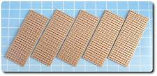 5x New PCB Stripboard Vero Style Strip Board 25x64mm