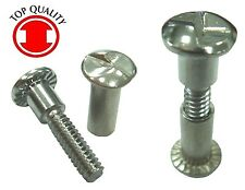 "One Way Sex Bolt #10-24, Nut 1"" & Screw 3/4"" (SS18-8) - 10sets"