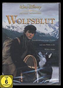 DVD WOLFSBLUT 1 - WALT DISNEY - JACK LONDON - ABENTEUER IN ALASKA *** NEU ***