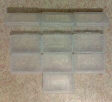 10 Cartridge cases (hülle, hüllen) Game Boy Advance GBA - protection plastic box