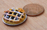 1:12 Scale Jam Lattice Tart Bakery Kitchen Pie Accessory Tumdee Dolls House D32