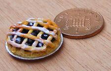 Damero tarta de mermelada de 1:12 Casa Muñeca Miniatura Accesorio de Cocina Pastel de panadería D21