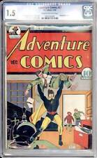 Adventure Comics # 57  Early Sandman Cover !  CGC 1.5 rare Golden Age book !