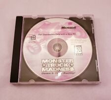 Monster Truck Madness Down & Dirty Racing Vintage 1996 Microsoft CD Disc Game