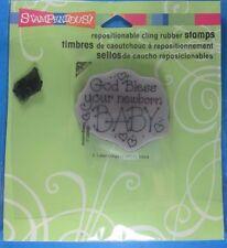 Stampendous Newborn Baby Rubber Stamp