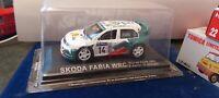 IXO 1/43 SKODA FABIA WRC CORSE 2003 AURIOL NEUF EN BOITE