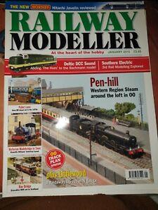 Railway modeller magazine jan 2010