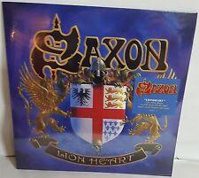 Saxon Lion Heart Lilac Vinyl LP Record new Lionheart