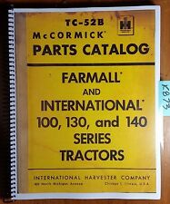 Farmall 140 Tractor Parts Manual | eBay