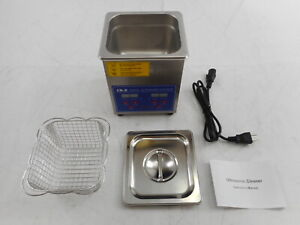 CO-Z DUC-1002-00 - 2L Ultrasonic Cleaner with Digital Timer and Heater