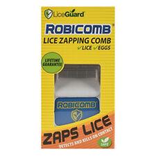 Lice Guard Lice Zapping Comb Kills Super Lice + Eggs Robicomb Non-toxic NEW