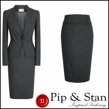 Regular Size Wool Blend 2 Piece Suits & Tailoring for Women