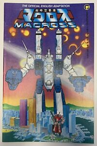 (1984) Comico MACROSS #1 1st English Adaptation! ROBOTECH!