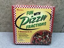 NEW Learning Resoures Fun with Pizza Fractions Game SEALED