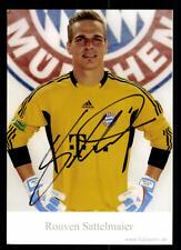 Rouven Sattelmaier Autogrammkarte Bayern München II 2011-12 Original Signiert