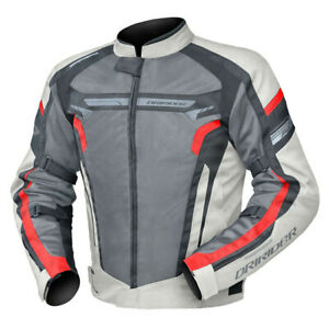 CLEARANCE!! Dririder Air Ride 4 Large Sports Touring Vented Mens Jacket Tornado
