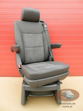 Seat VW T5 Multivan Caravelle anthracie leather swivel rear t6