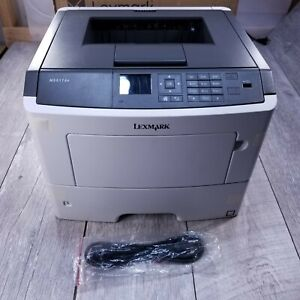 Lexmark MS617DN Monochrome Laser Duplex 2 Sided Printer M1200 Series 50PPM