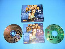 Tomb Raider Iii: Adventures of Lara Croft (Pc, 1998) Complete Folio - Us Version