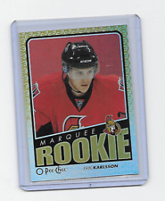 ERIK KARLSSON 2009-10 OPC RAINBOW #789 MARQUEE ROOKIE RARE UPDATE PARALLEL RC