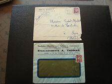 FRANCE - 2 enveloppes 1943 (cy66) french