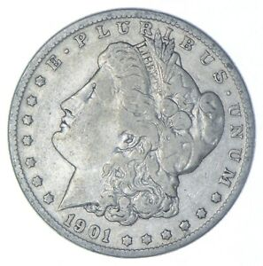 Early - 1901-O-Morgan Silver Dollar - 90% US Coin *898